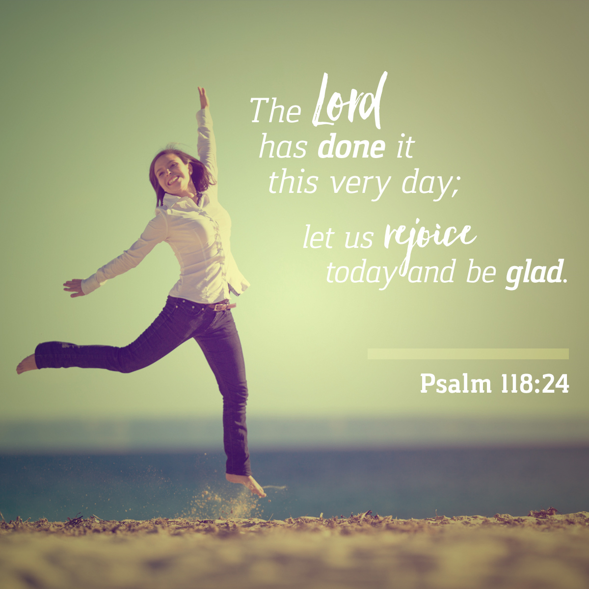 Psalm 118:24 - Daily Verse