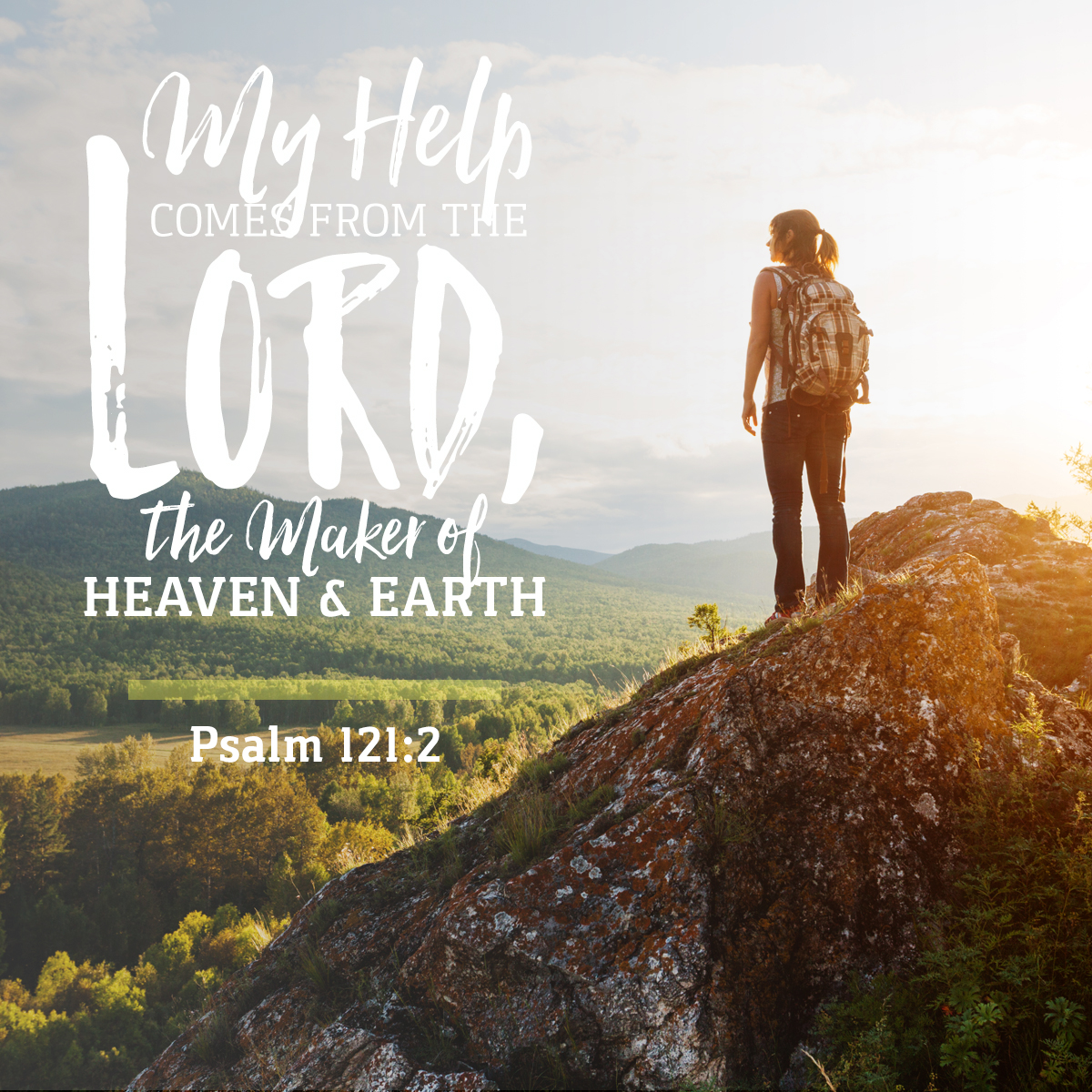Psalm 121:2 - Daily Verse
