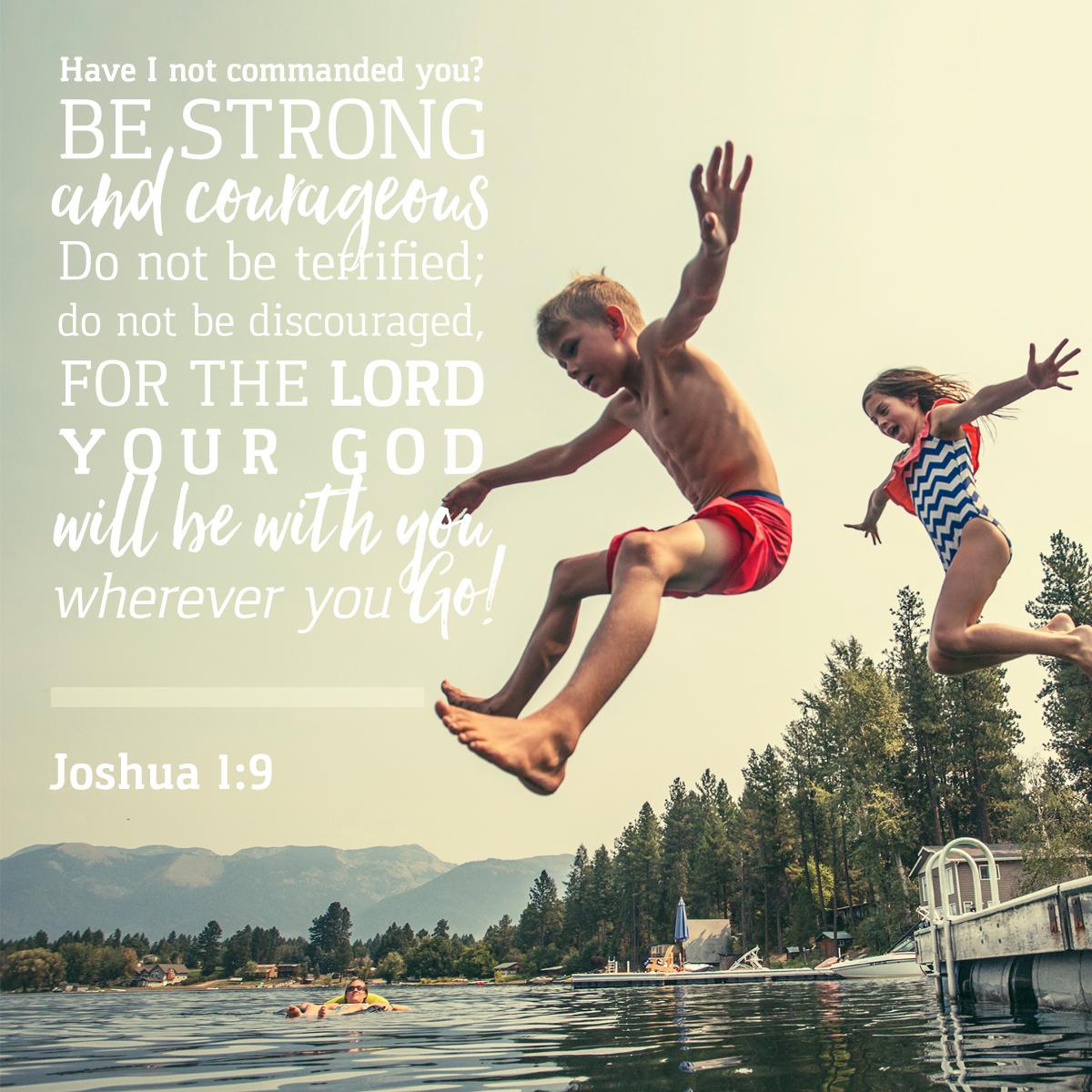 Joshua 1:9 - Daily Verse