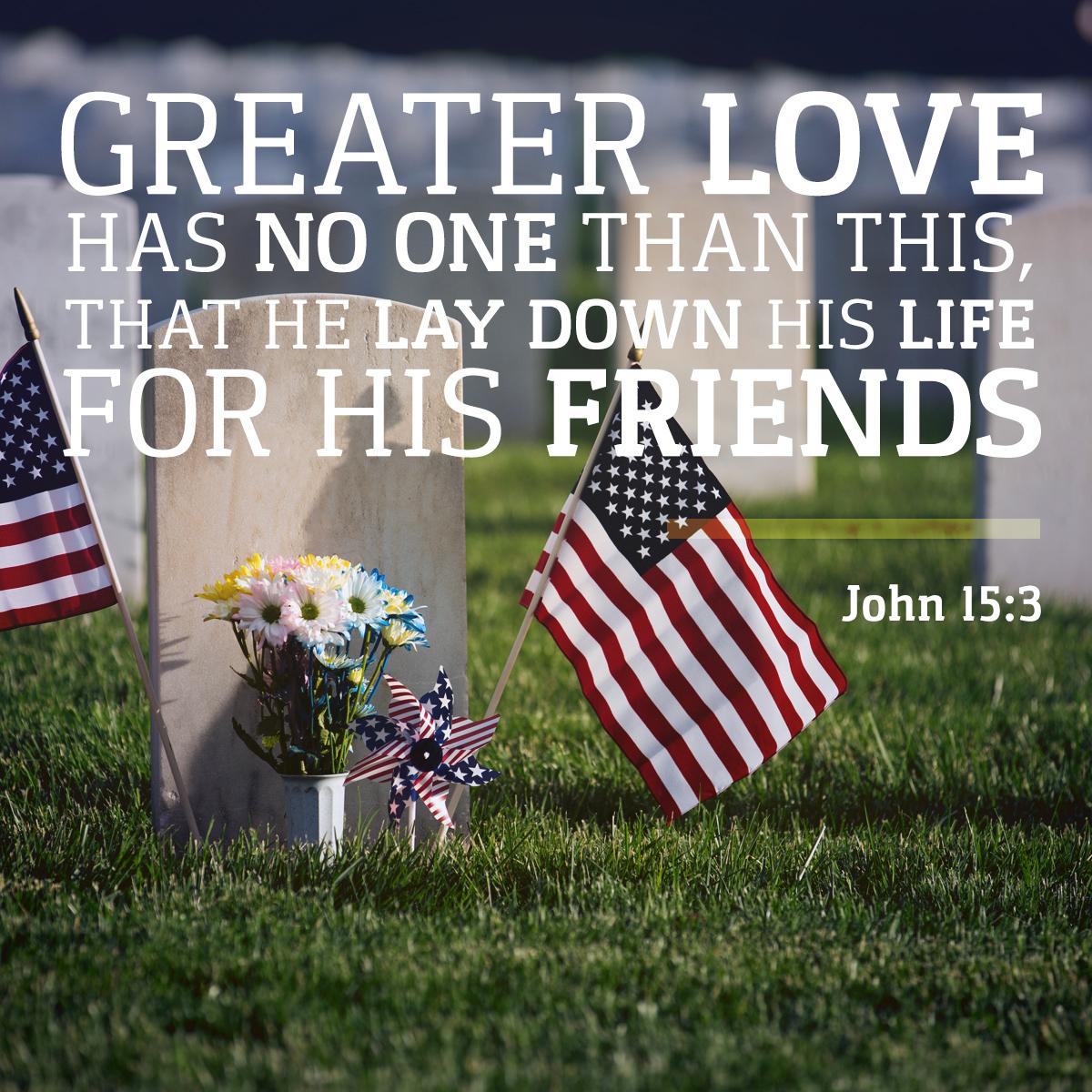 John 15:13 - Daily Verse