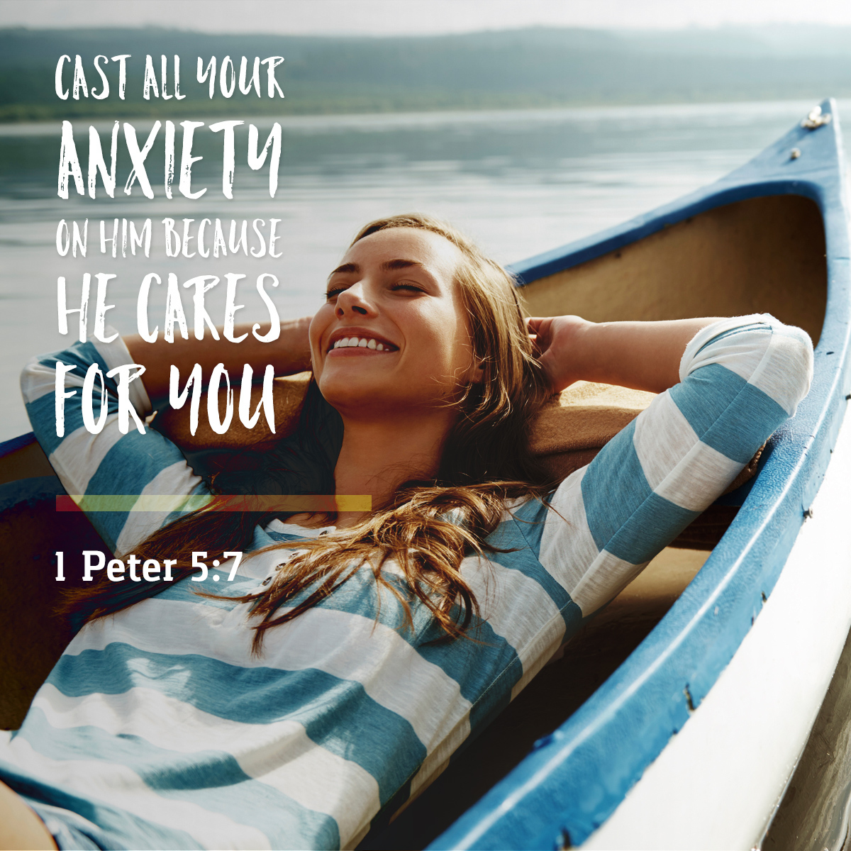 1 Peter 5:7 - Daily Verse