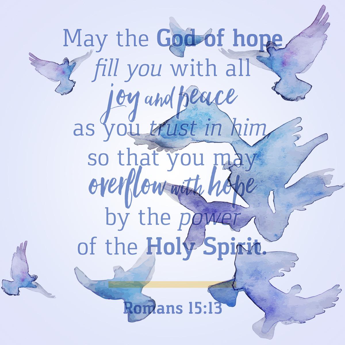 Romans 15:13 - Daily Verse