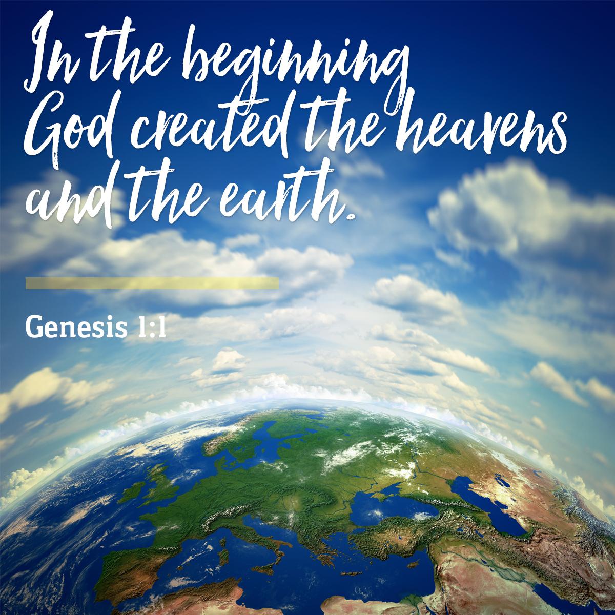 Genesis 1:1 - Daily Verse