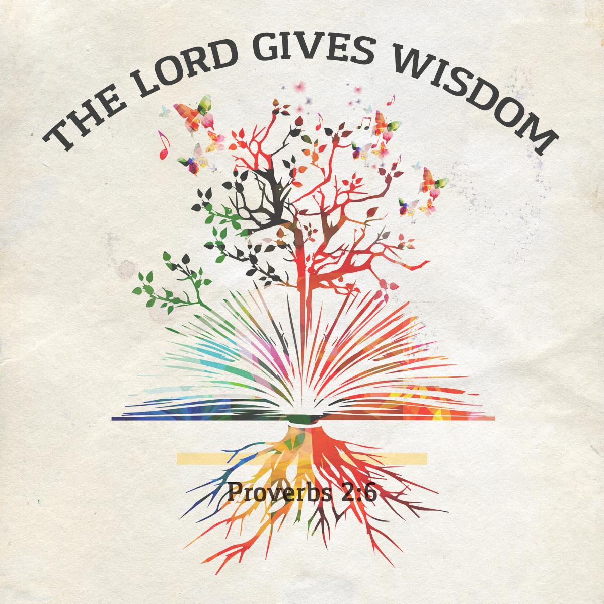 Proverbs 2:6 - Daily Verse