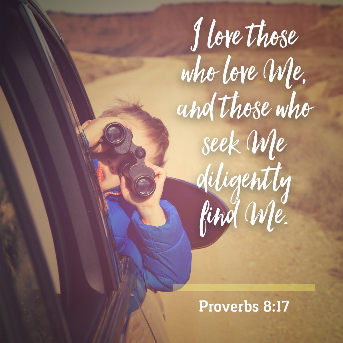 Proverbs 8:17