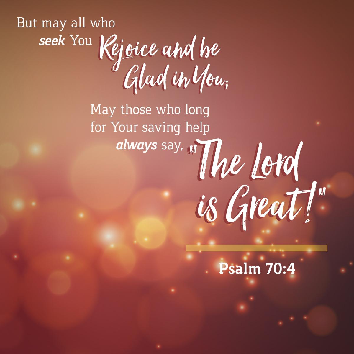 Psalm 70:4
