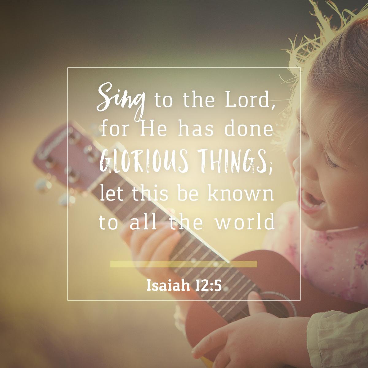 Isaiah 12:5