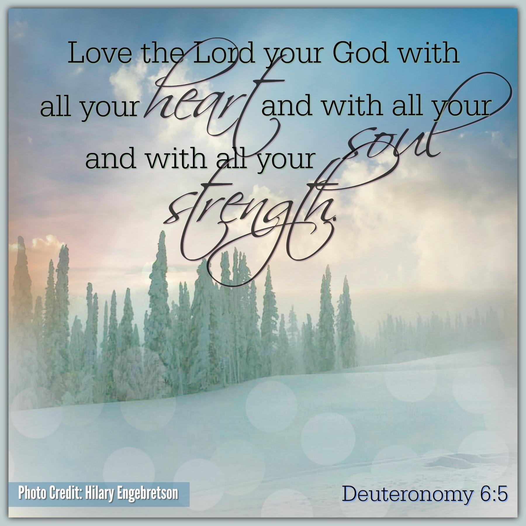 Deuteronomy 6:5