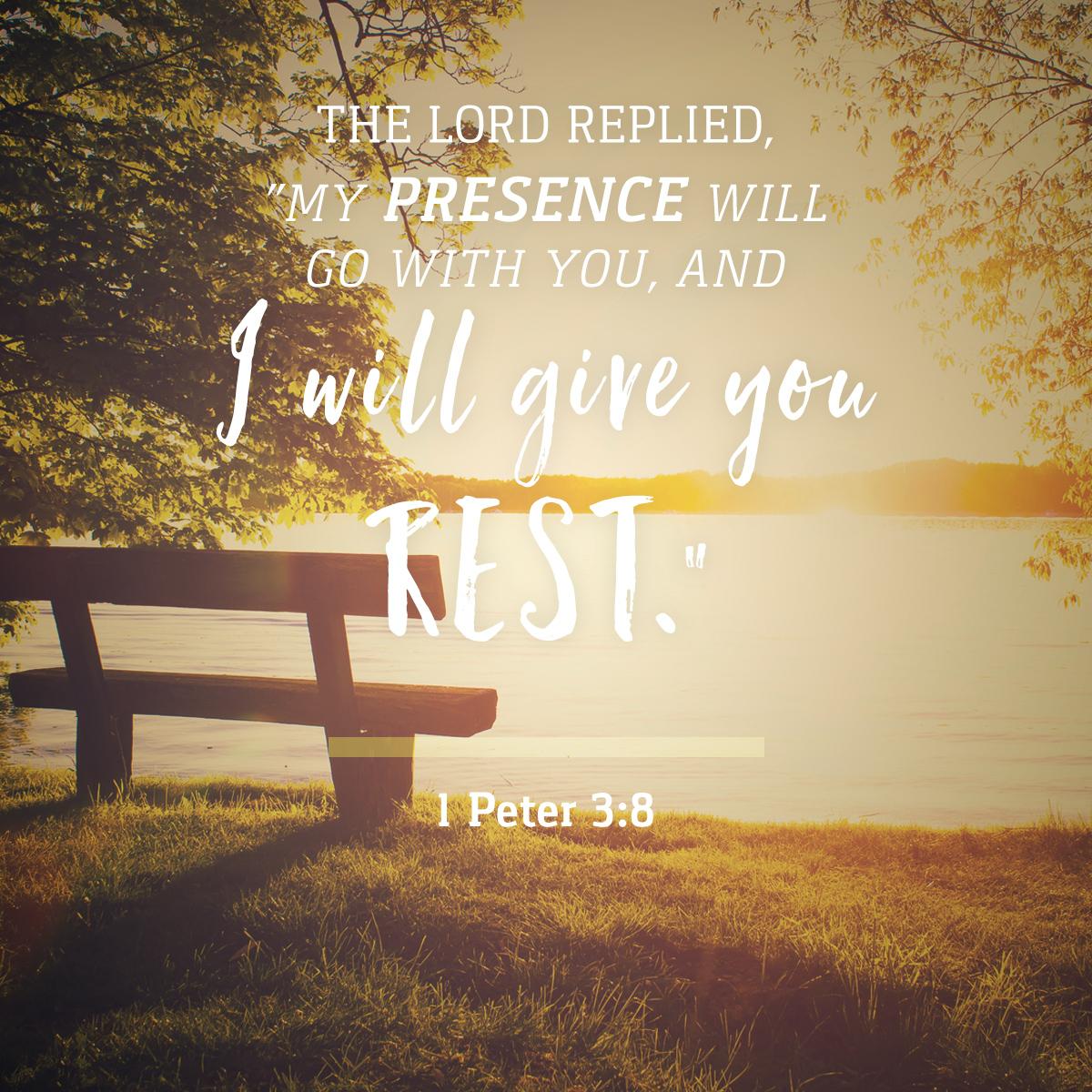 Exodus 33:14 - Daily Verse