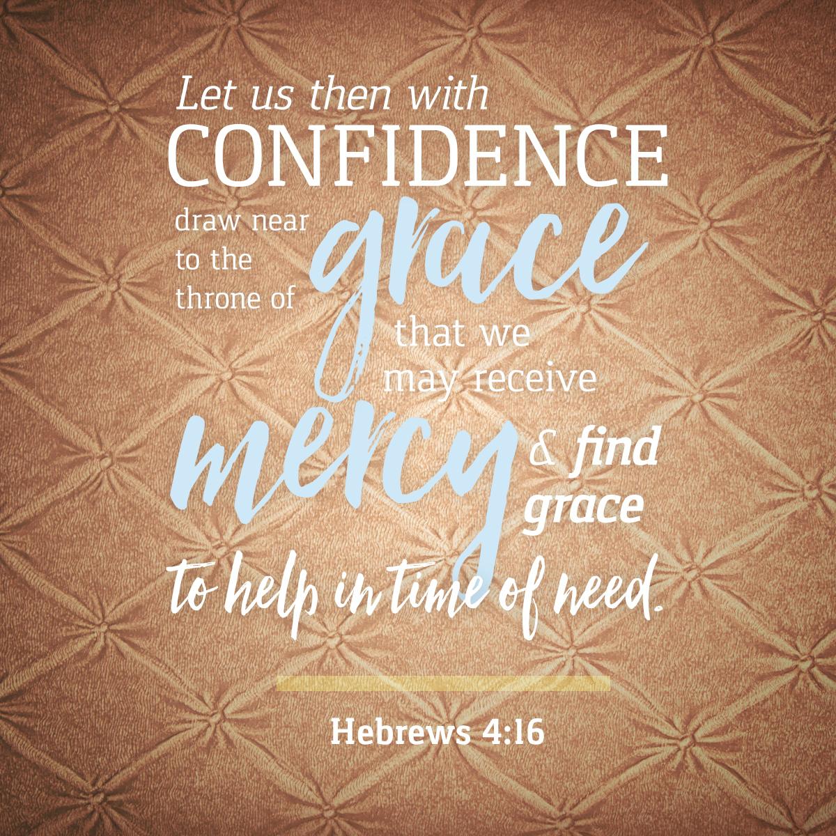 Hebrews 4:16 Daily Verse