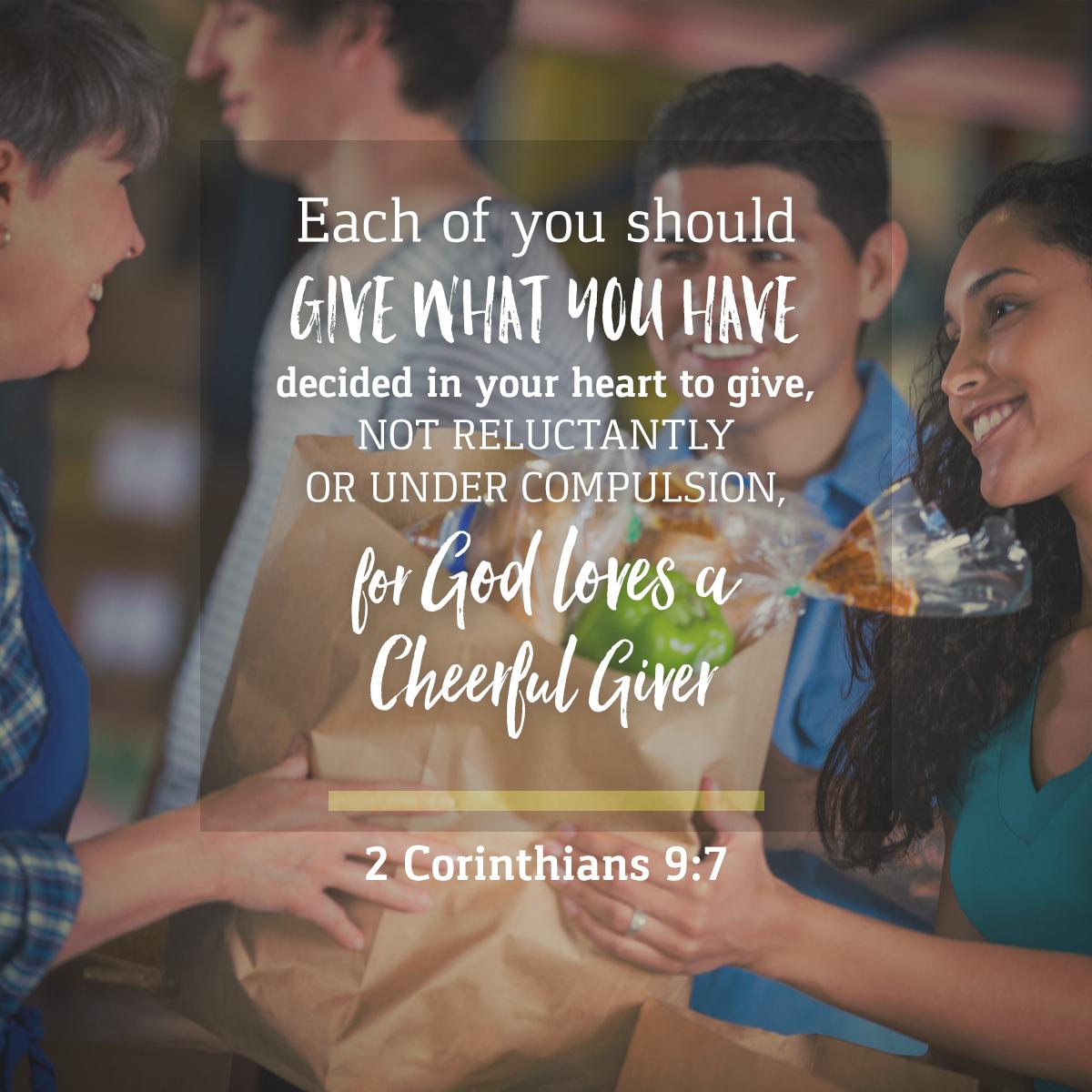 2 Corinthians 9:7