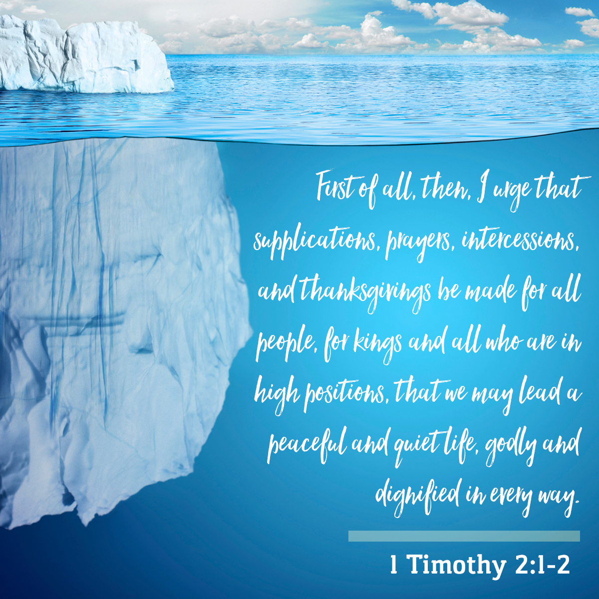 1 Timothy 2:1-2