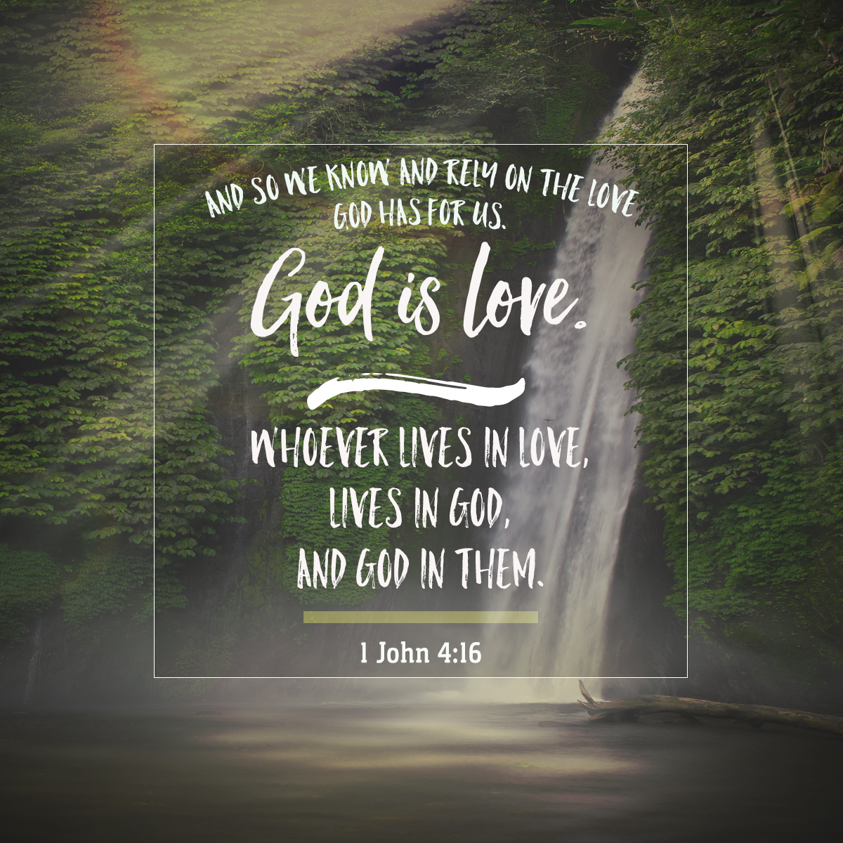 1 John 4:16-