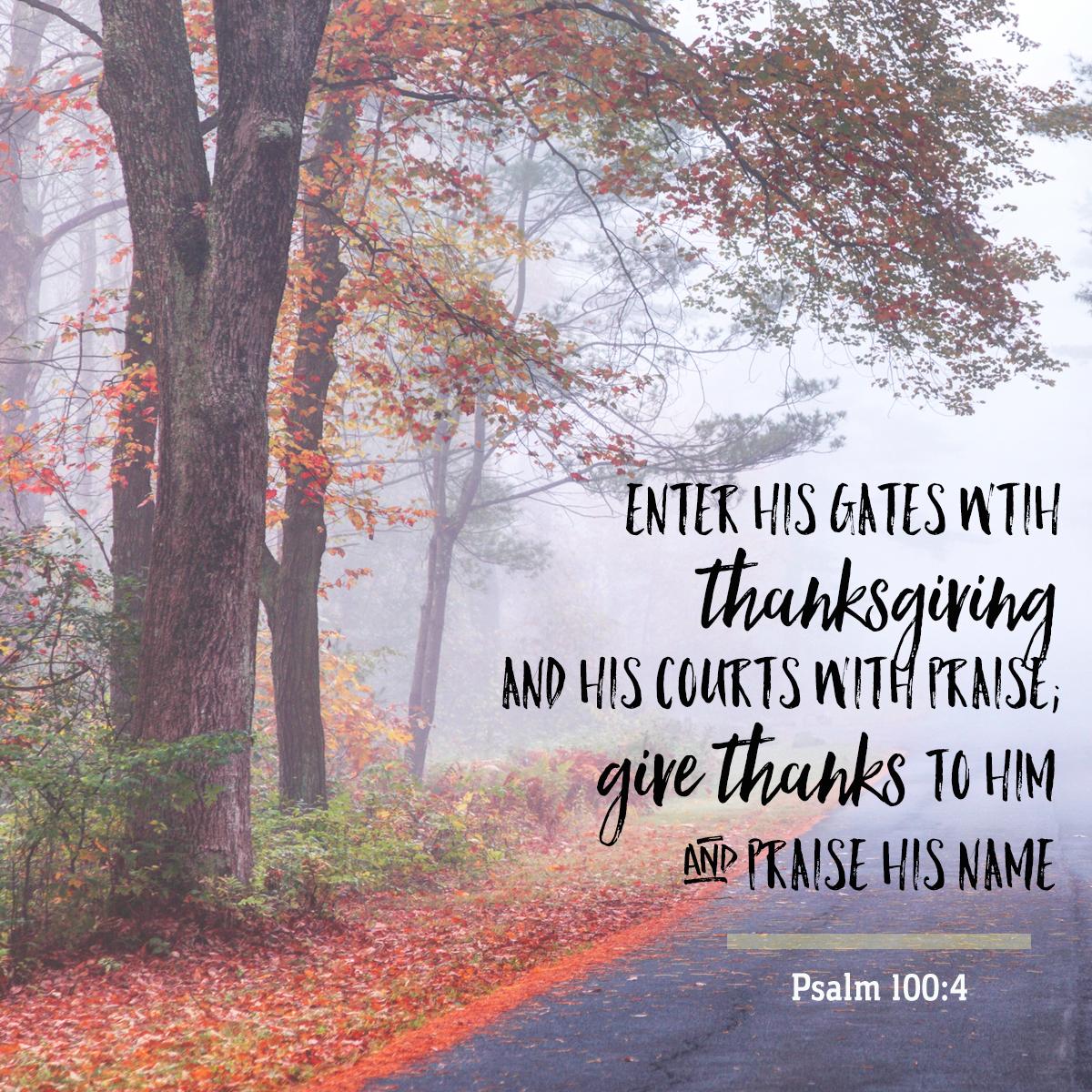Psalm 100:4-