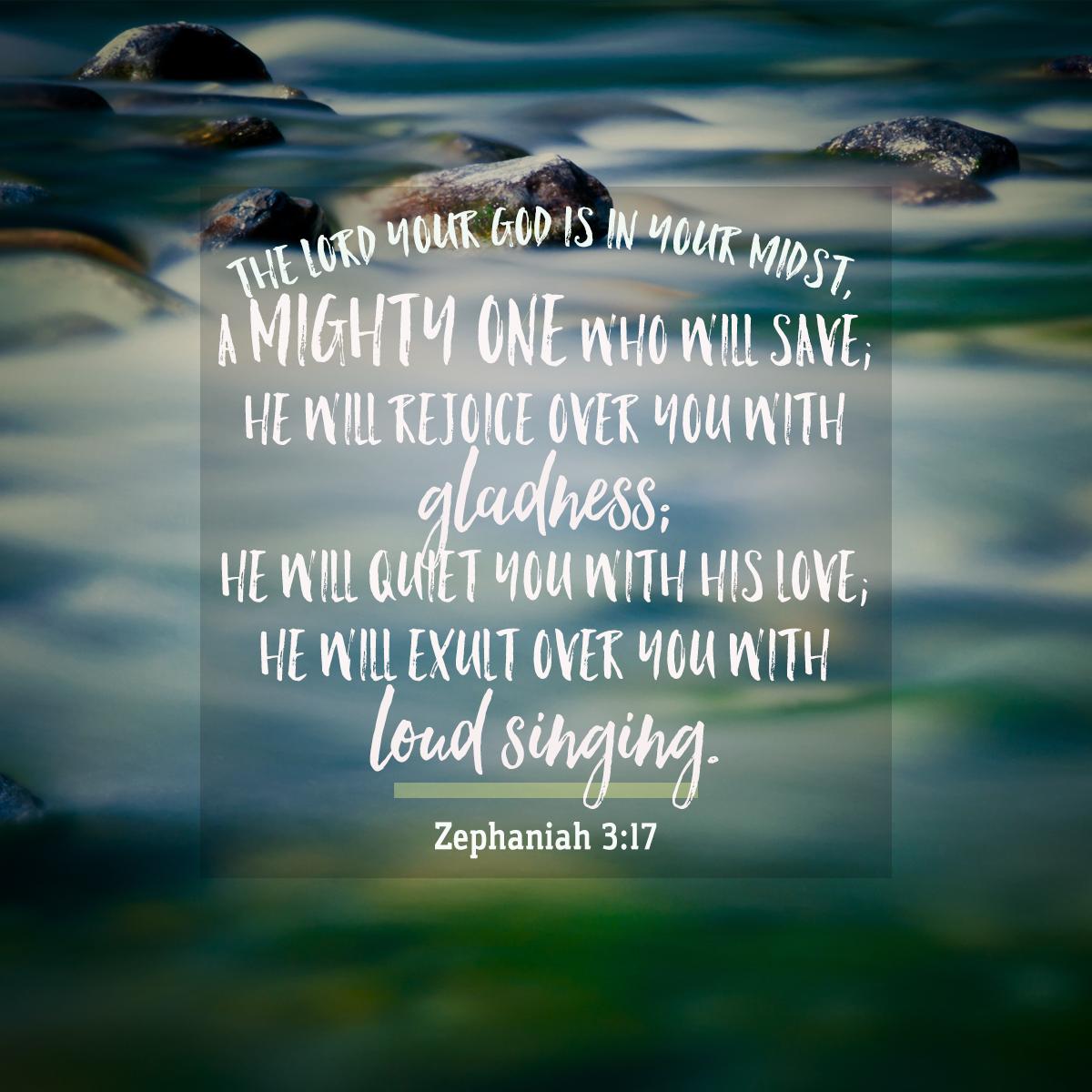 Zephaniah 3:17-