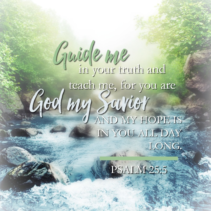 Psalm 25:5 - Daily Verse