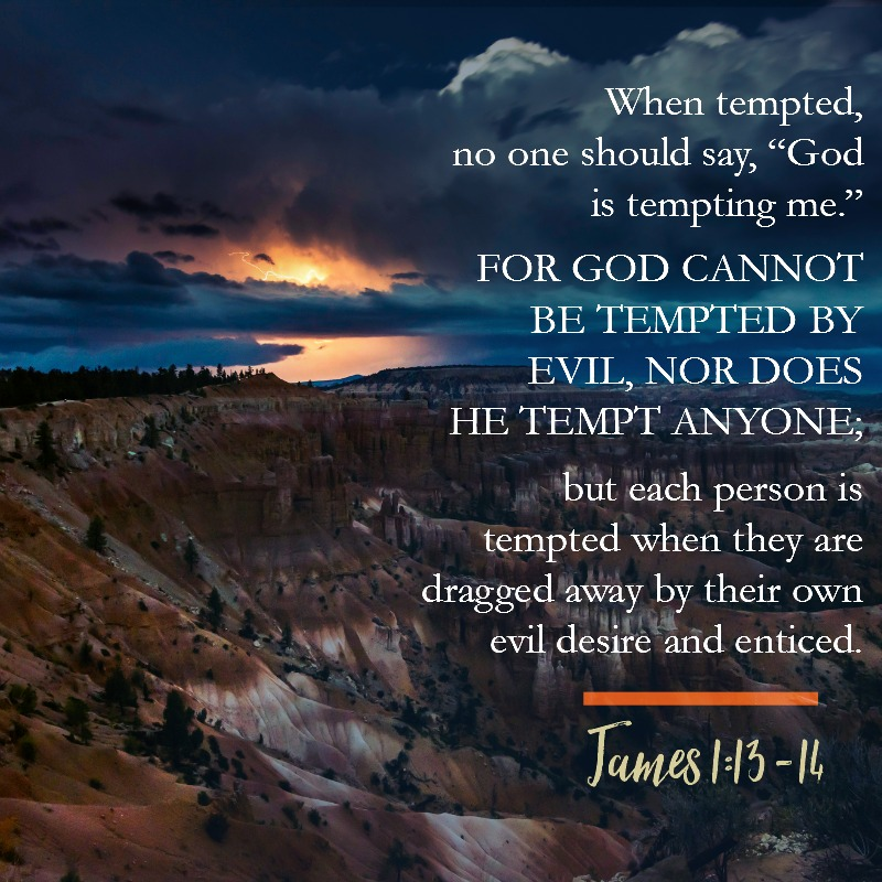 James 1:13-14