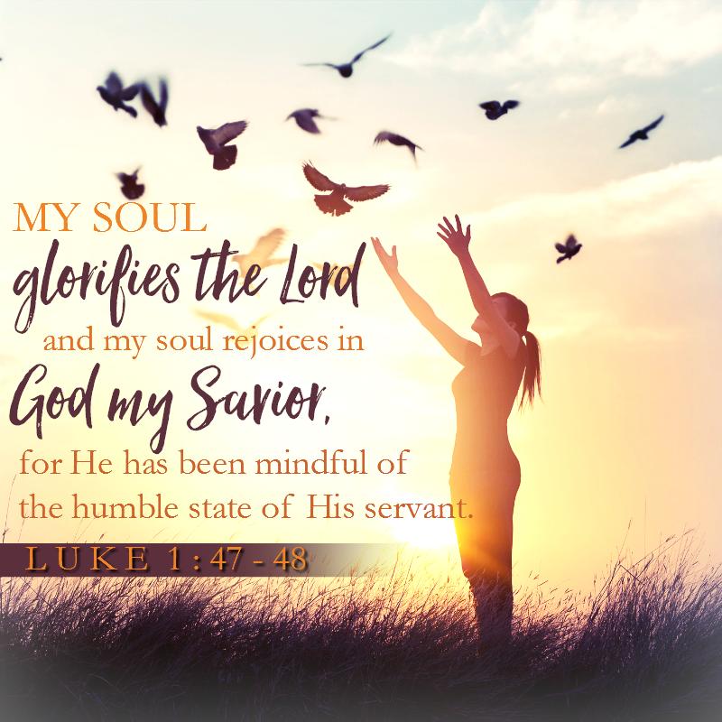 Luke 1:47-48