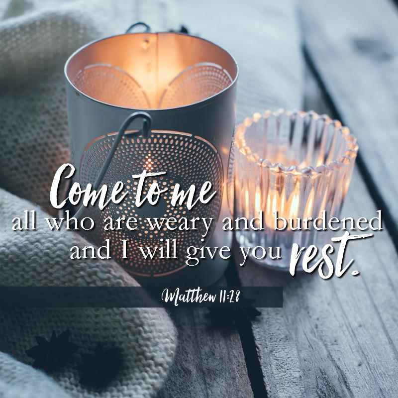 Matthew 11:28-