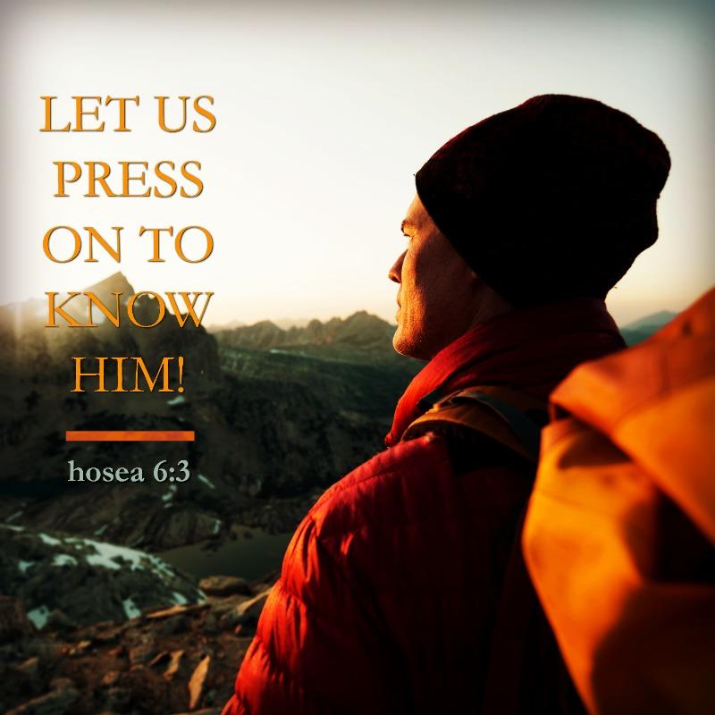 Hosea 6:3-