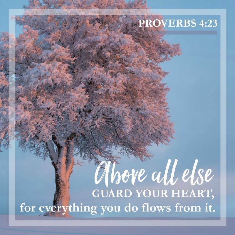 Proverbs 4:23-