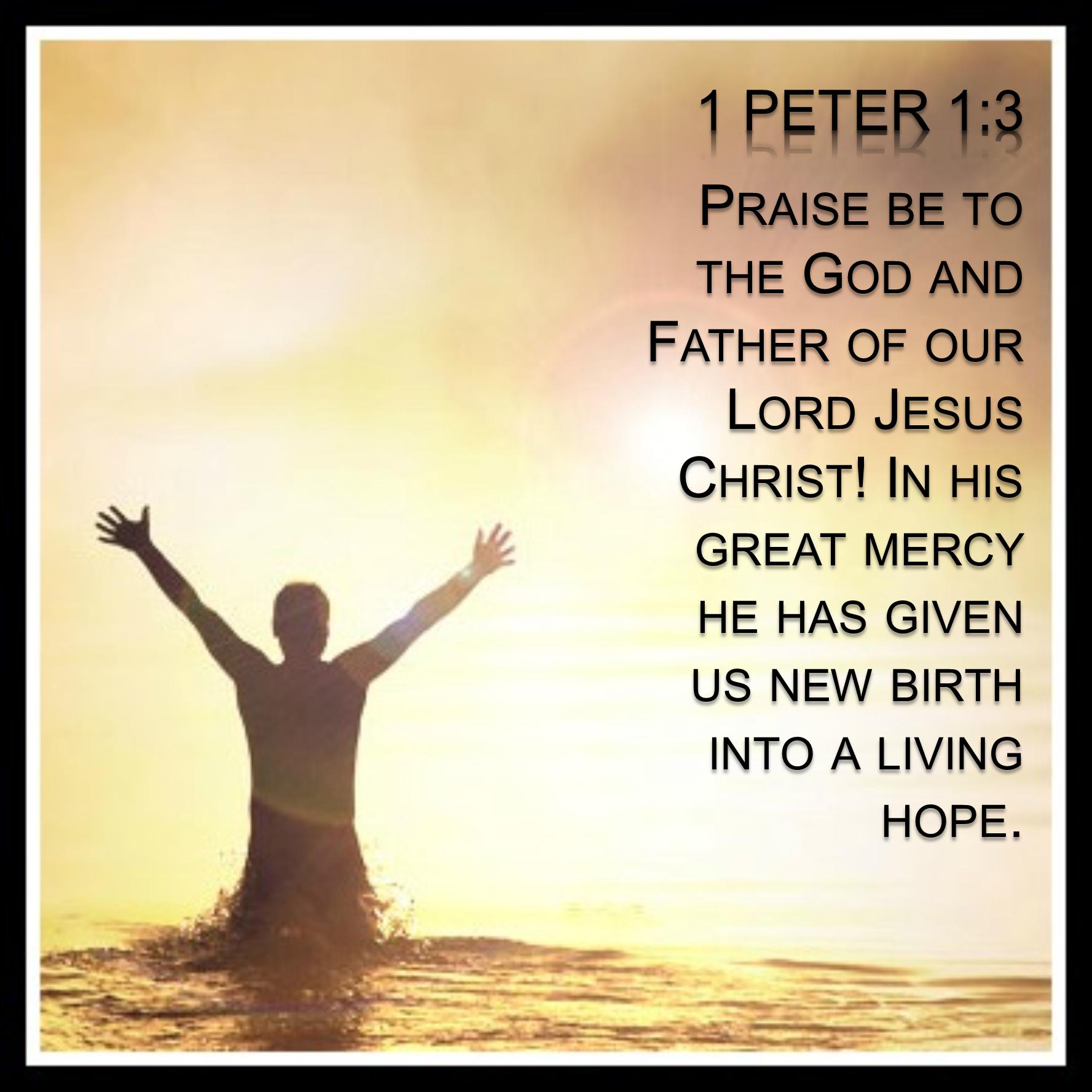 1 Peter - 1:3