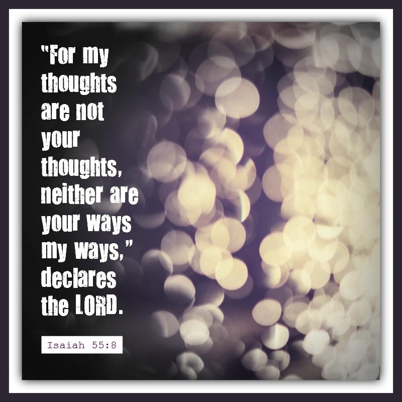 Isaiah 55:8