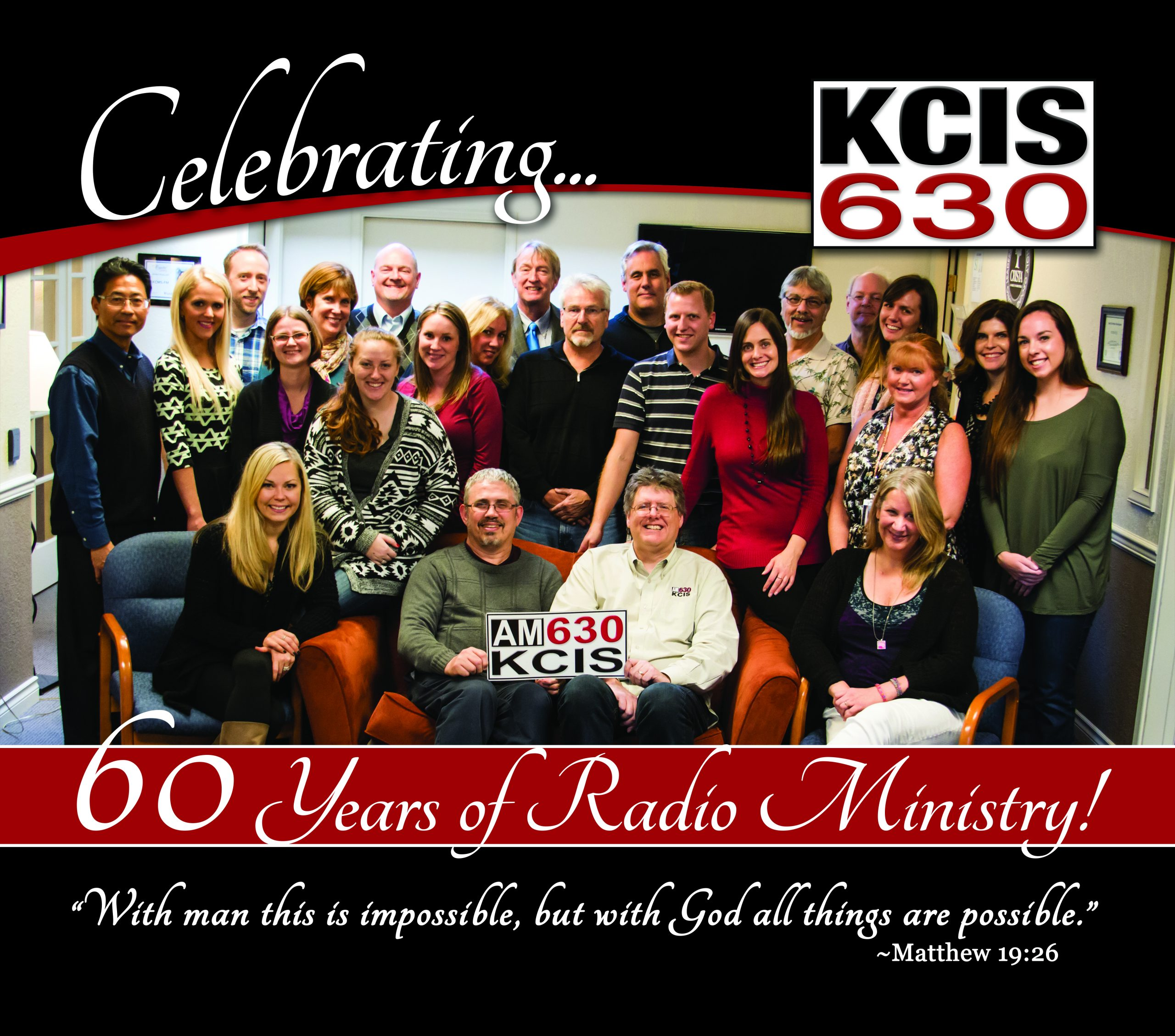 KCIS 630 Celebrates Diamond Anniversary