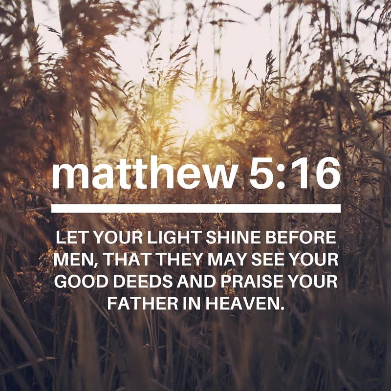 Matthew - 5:16