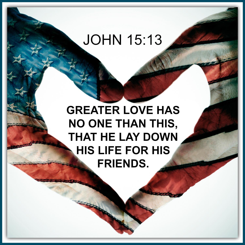 John - 15:13