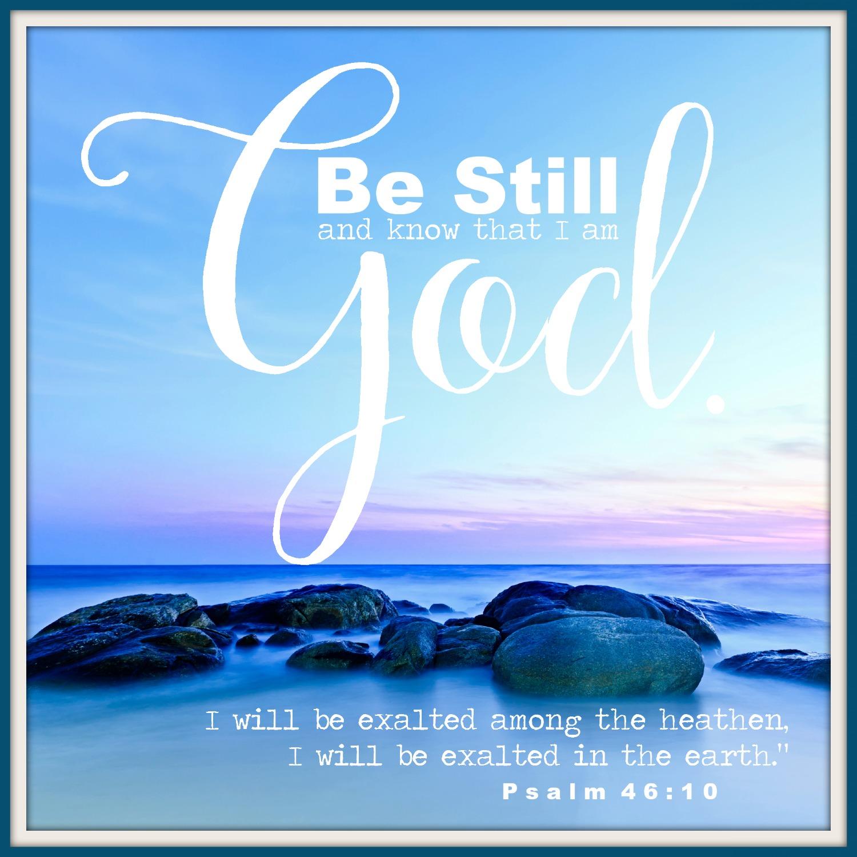 Psalm - 46:10