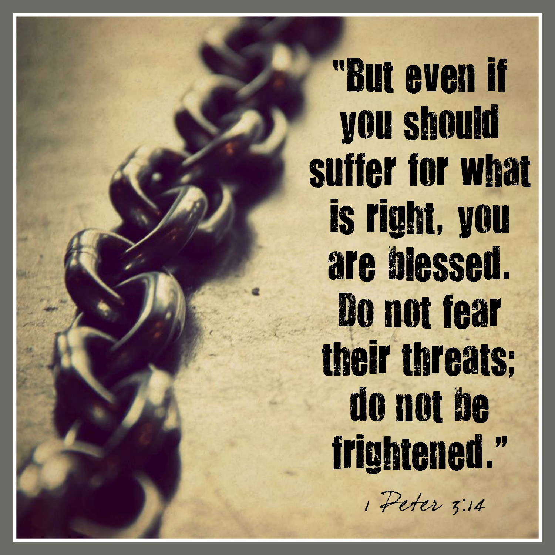 1 Peter - 3:14