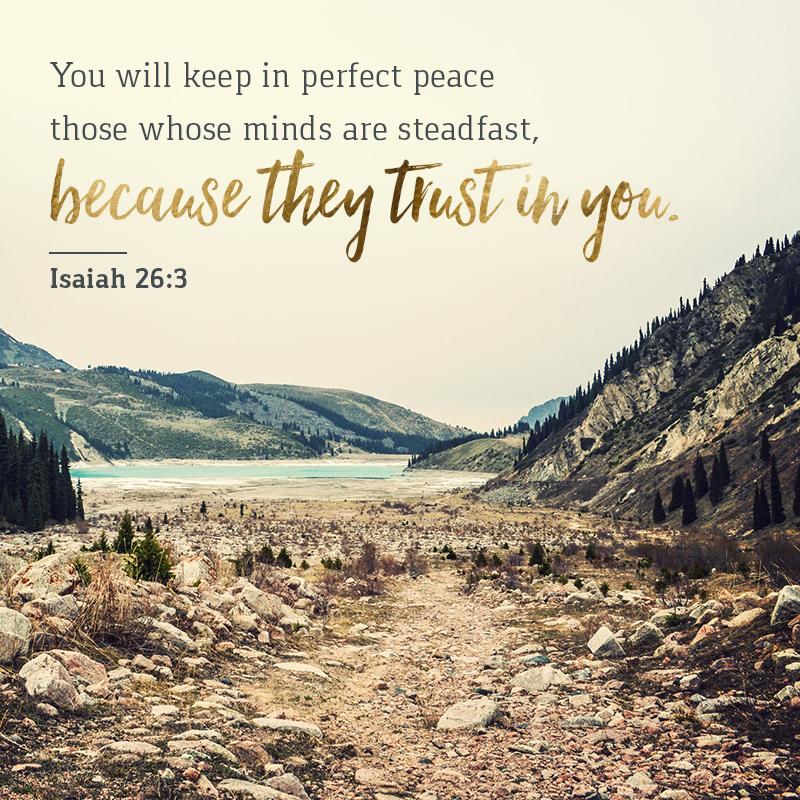 Daily Verse: Isaiah 26:3