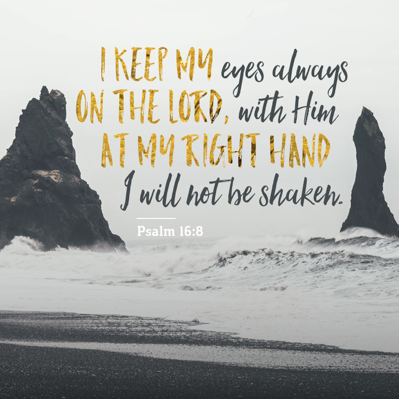Psalm - 16:8
