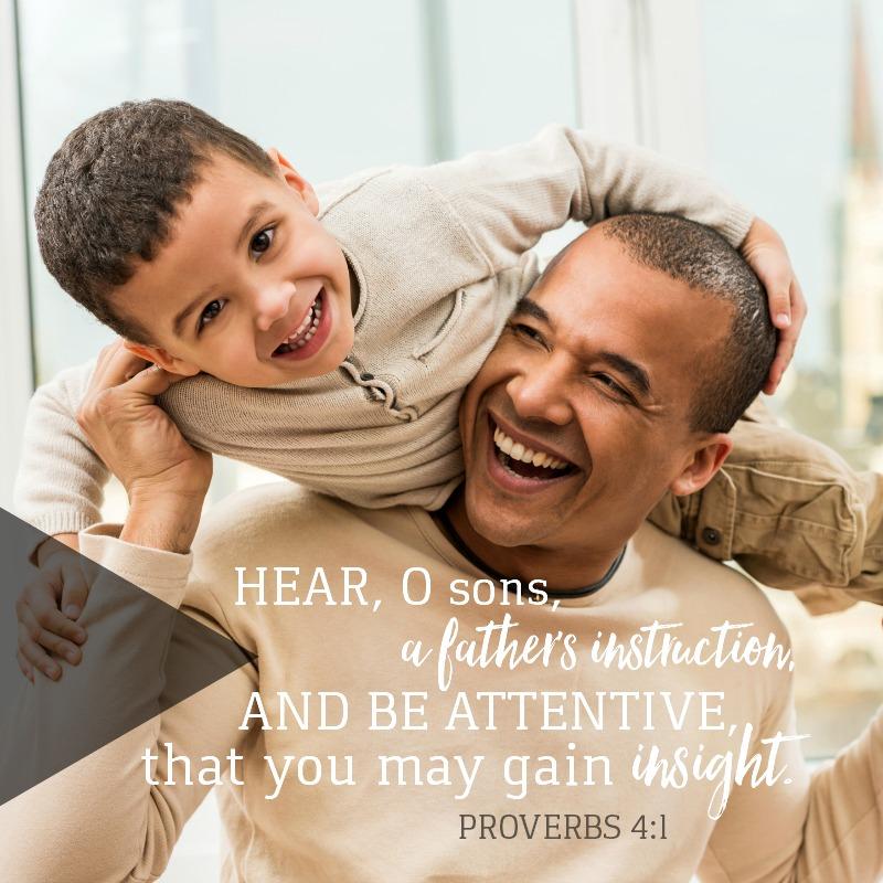 Daily Verse: Proverbs 4:1