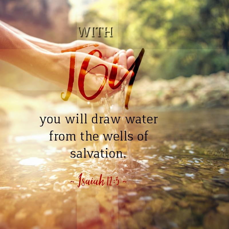 Daily Verse: Isaiah 12:3