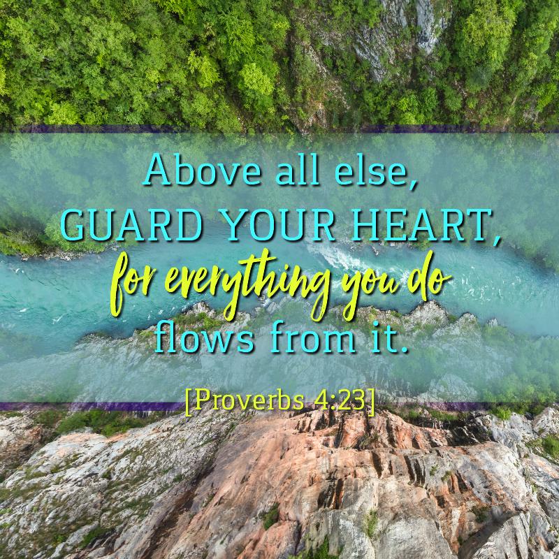 Daily Verse: Proverbs 4:23