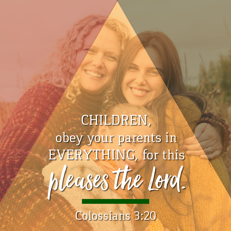 Daily Verse: Colossians 3:20