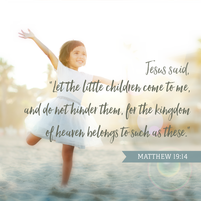 Daily Verse: Matthew 19:14