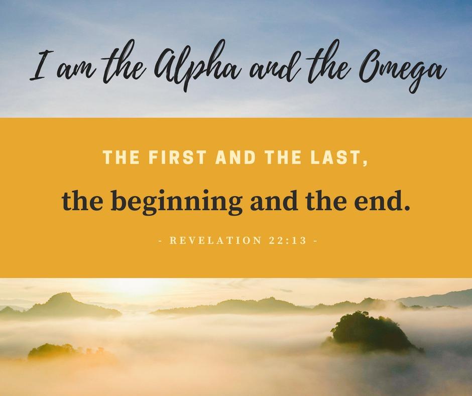 Daily Verse: Revelation 22:13