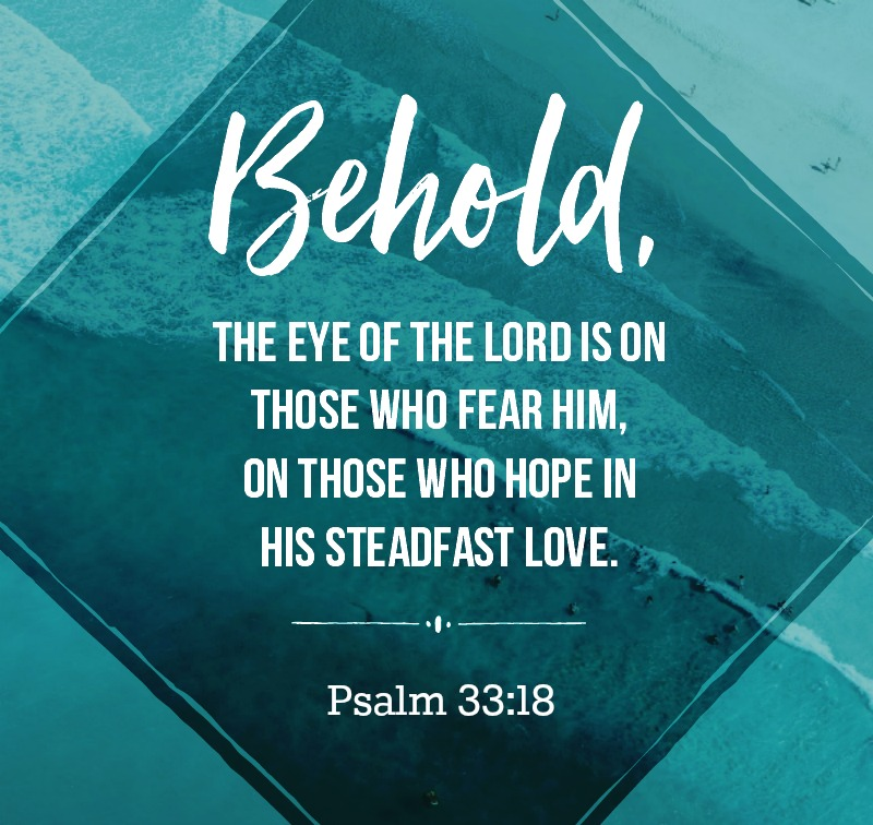 Daily Verse: Psalm 33:18