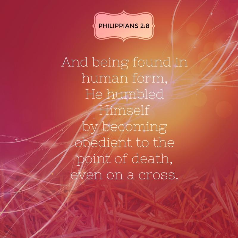 Daily Verse: Philippians 2:8