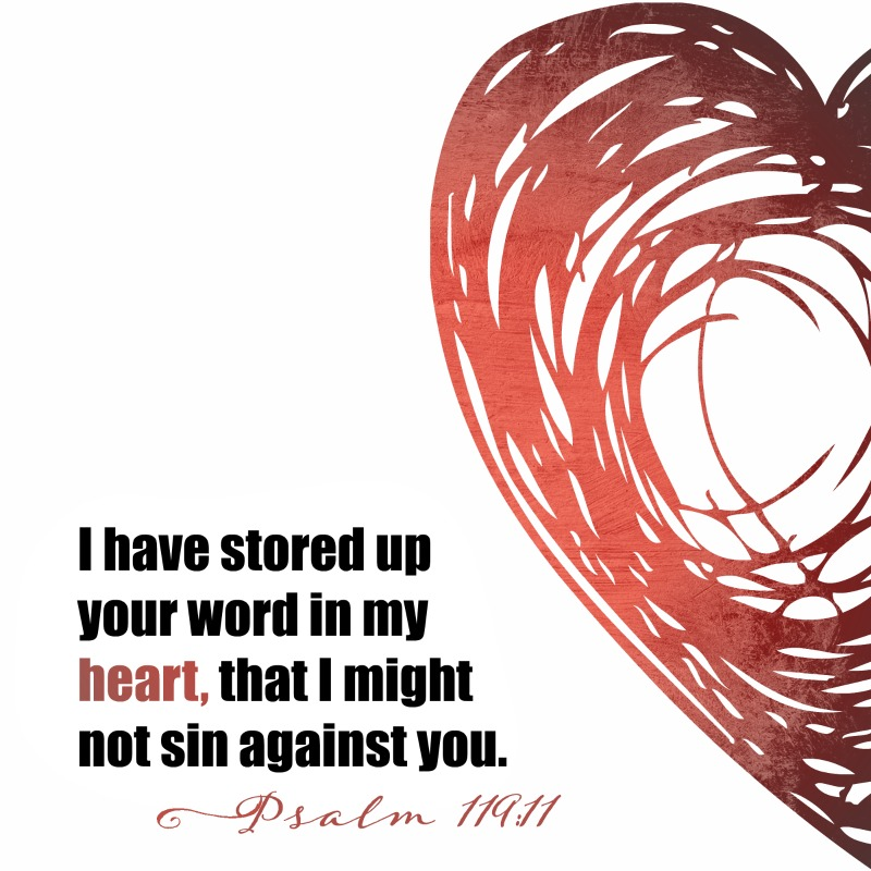 Daily Verse: Psalm 119:11