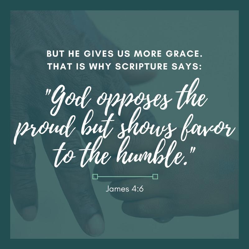 Daily Verse: James 4:6