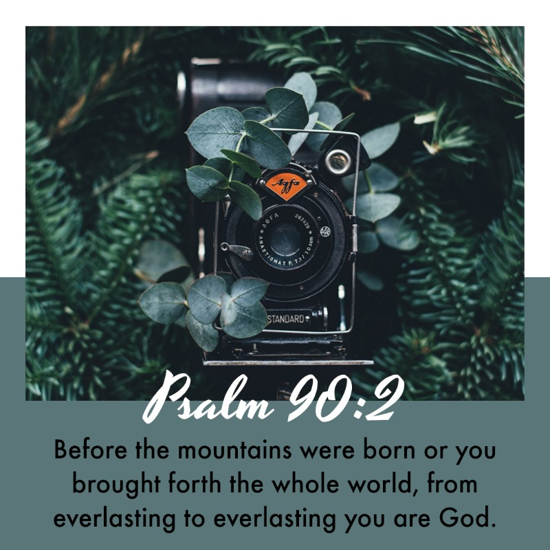 Daily Verse: Psalm 90:2
