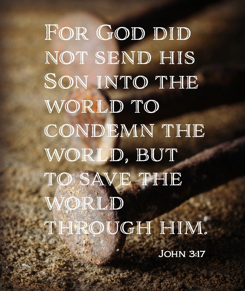 Daily Verse: John 3:17