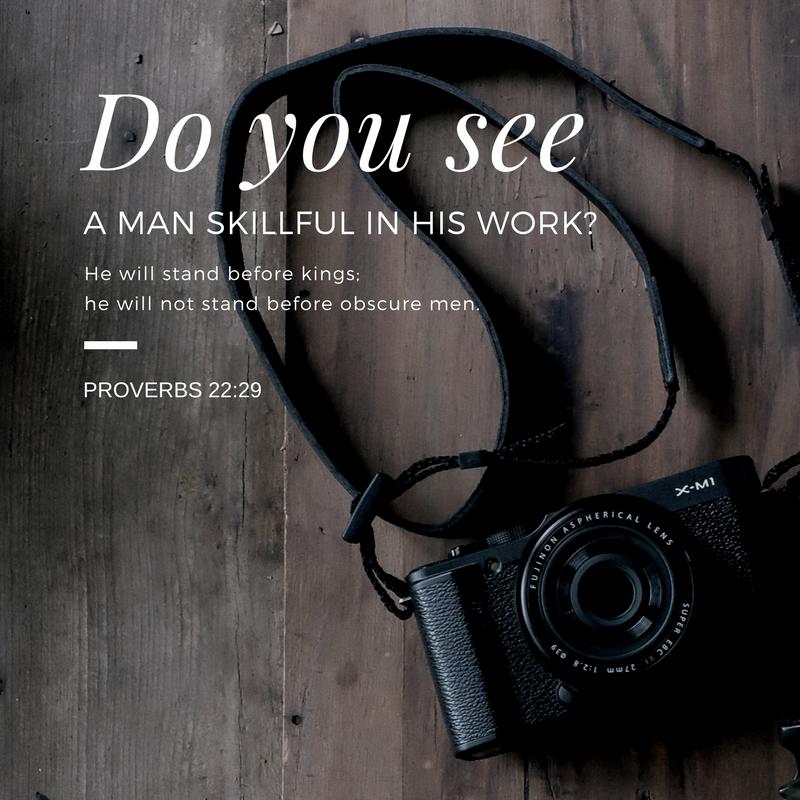 Daily Verse: Proverbs 22:29