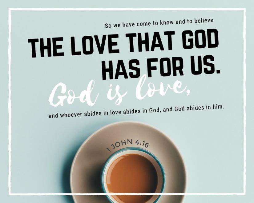 Daily Verse: 1 John 4:16