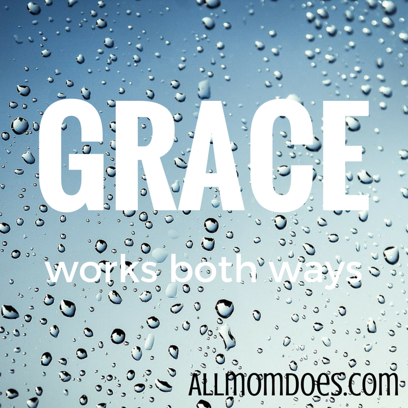 Grace Works Both Ways
