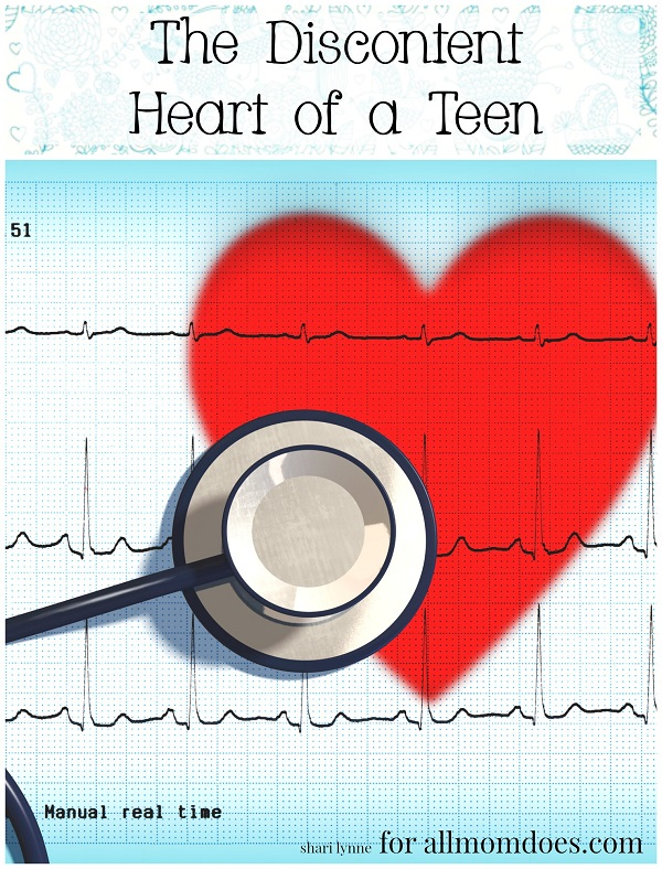 The Heart of a Discontent Teen